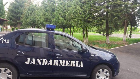 Jandarmii maramureşeni prezenţi la datorie