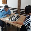 Pompieri la tabla de șah