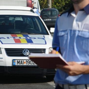 Şase infracţiuni de conducere sub influenţa alcoolului constatate de poliţişti