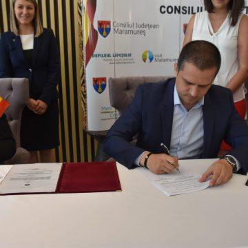 Ministrul Turismului a fost la Borșa pentru a semna proiectul de finanțare a telegondolei și a pârtiei olimpice