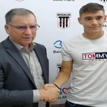 VIDEO   Un fotbalist de la Minerul Baia Mare s-a transferat la FCSB