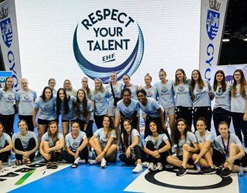 Andreea Popa, de la CS Minaur, selectată în proiectul Respect your Talent