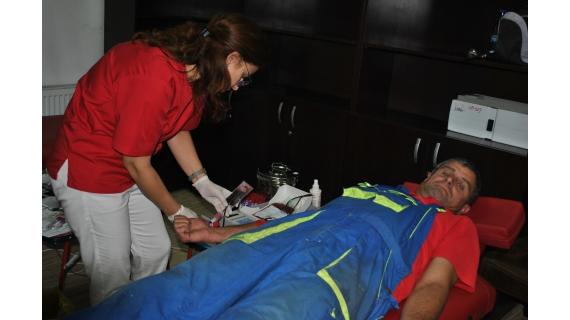 VIDEO | Angajații societății Vital au donat sânge