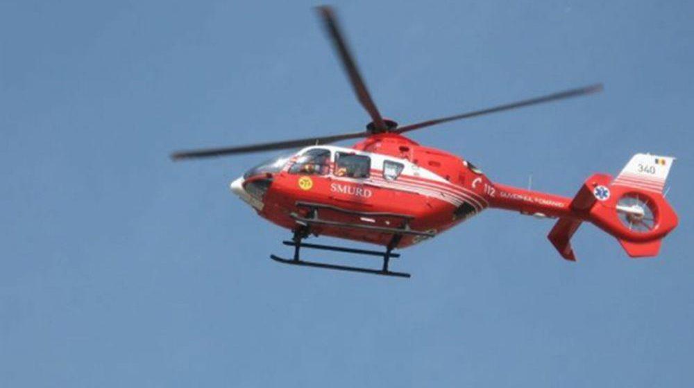 VIDEO   Elicopter SMURD solicitat pentru un maramureșean