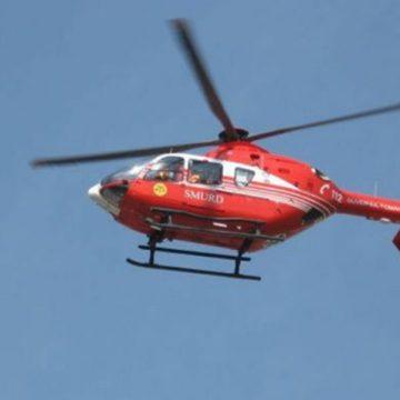 VIDEO | Elicopter SMURD solicitat pentru un maramureșean