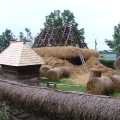 Se repară casele afectate de la Muzeul Satului din Baia Mare