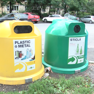 VIDEO | Sighetenii sunt îndemnați să colecteze selectiv gunoiul
