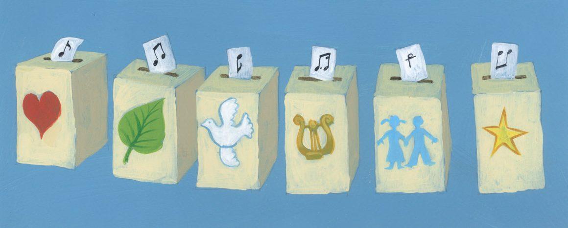 Se votează melodiile românești ce vor fi incluse în prima Carte de Cântece a Uniunii Europene