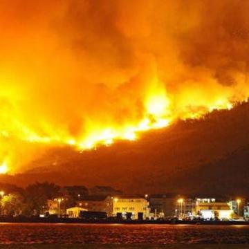 Atenționare de călătorie în Grecia – risc ridicat de incendii de vegetație