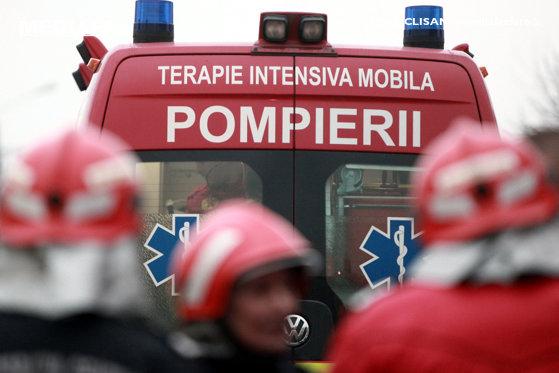 Incendiu în secţia de psihiatrie a unui spital: 24 de pacienţi evacuaţi, trei cu arsuri