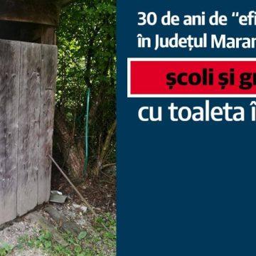 La începerea noului an școlar, 31 de unități de învățământ din Maramureș au toaletele în fundul curții