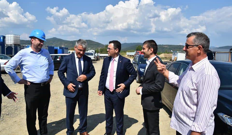 Miniștri ai Guvernului Dăncilă – vizită la investiția de 140 de milioane de euro derulată la Tăuții Măgherăuș de UAC