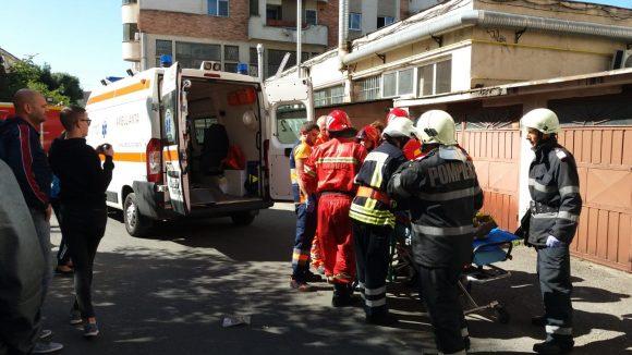 Dramă în Baia Mare: doi frați au căzut în gol de la etajul 5 al unui bloc