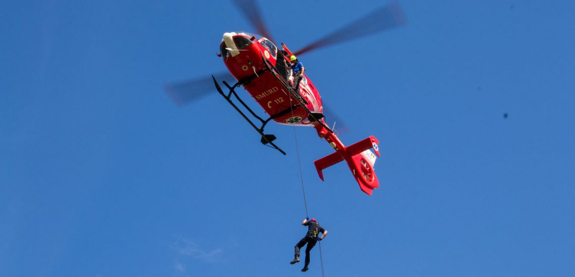 Antrenament pentru căutarea și salvarea celor rătăciți în zone montane greu accesibile