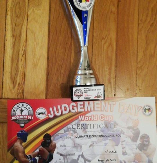 Tinerii sportivi au reprezentat Sighetu Marmației cu mândrie la Cupa Mondiala Judgement Day
