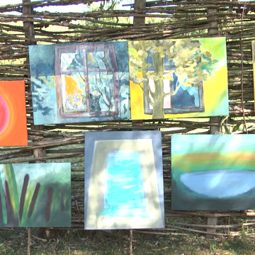 VIDEO | 21 de artiști din șapte țări la expoziția Culori Unite în Maramureș