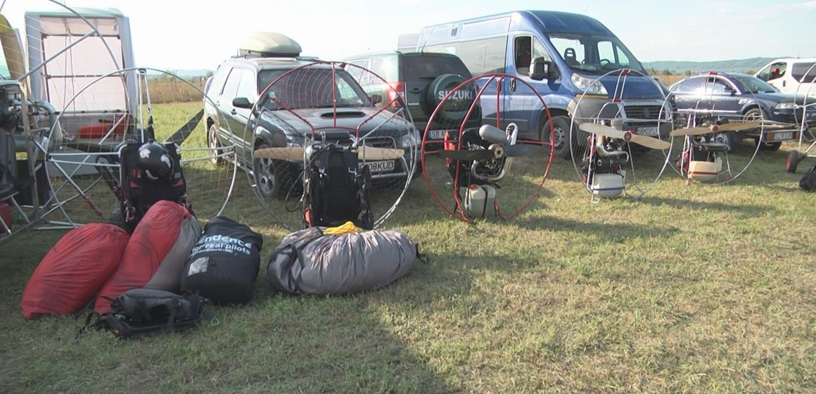 Cupa Paramotor Sport, la Sighet