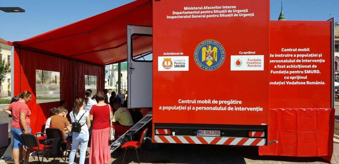 Caravana SMURD vine în Baia Mare și în Baia Sprie