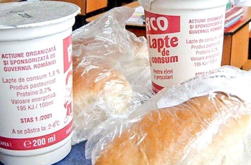 În 9 septembrie începe distribuția laptelui, cornului, merelor și biscuiților în școli