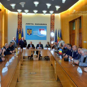 Colaborare între cadrele militare în rezervă și în retragere din Maramureș și Ucraina