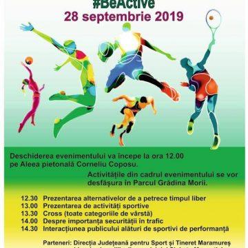 Săptămâna Europeneană a Sportului va fi marcată și în municipiul Sighetu Marmație