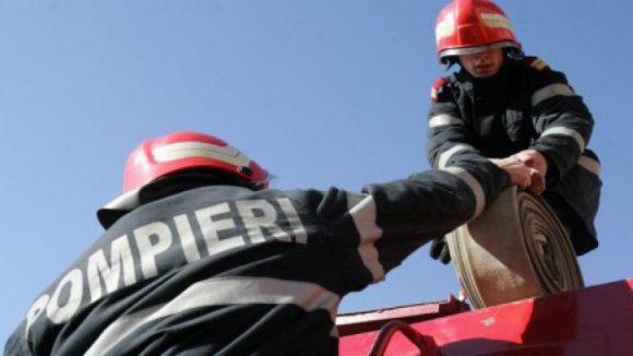 Sfârșit de săptămână cu opt intervenții ale pompierilor