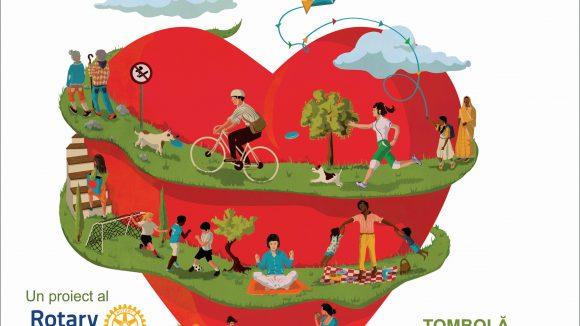 """""""Promenada Inimilor"""", de Ziua Internațională a Inimii"""
