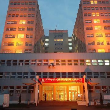 GALERIE FOTO   Spitalul Județean, portocaliu de Ziua Mondială a Siguranței Pacientului