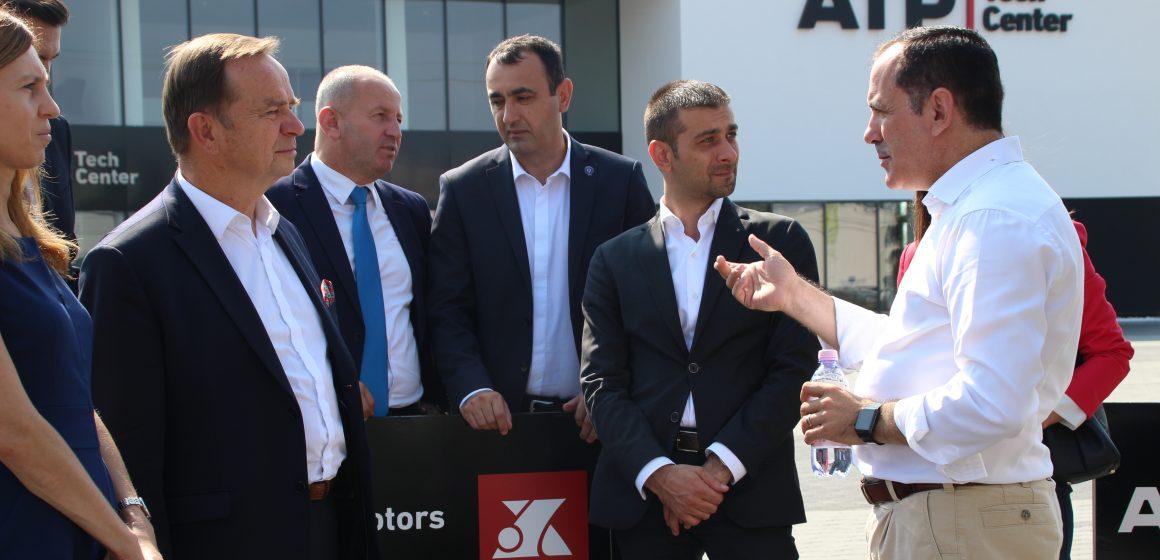 """Delegația Voievodatului Podkarpackie în vizită la Aeroportul Internațional """"Maramureș"""" și la ATP Teach Center"""