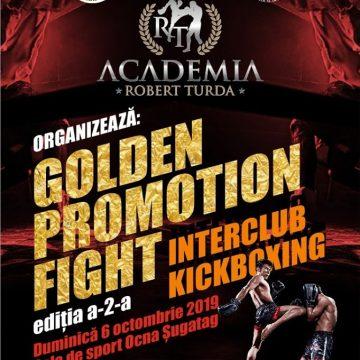 La Ocna Șugatag are loc cea de-a doua ediție a competiției Golden Promotion Fight organizată de clubul sportiv Academia Robert Turda