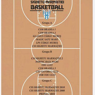 În perioada 25-27 octombrie are loc ediția a 7-a a Cupei Sighetu Marmației Basketball la minibaschet