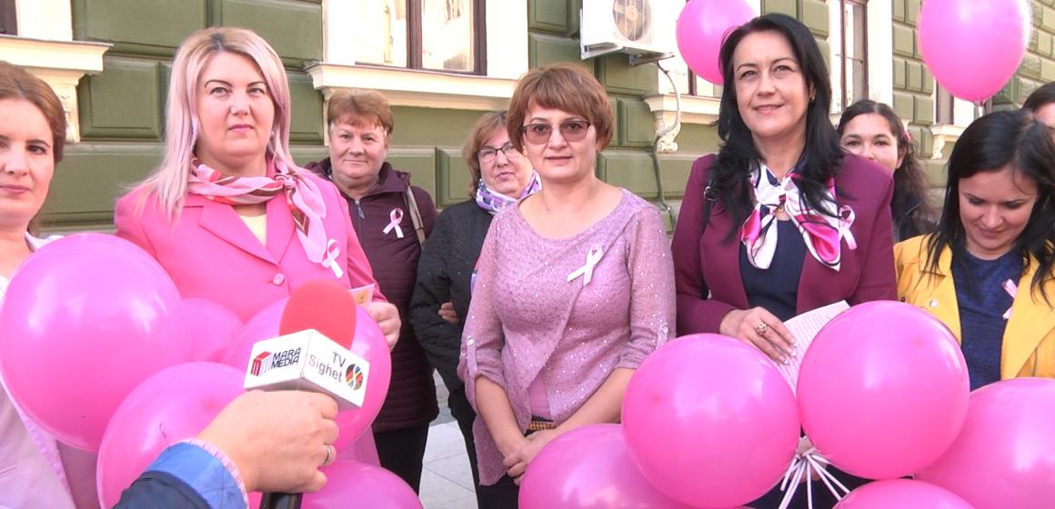 Campanie de informare despre măsurile de prevenire a cancerului de sân