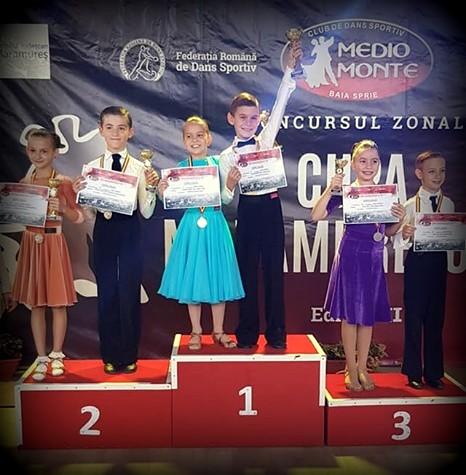 Sportivii de la Prodance 2000 au obținut 5 medalii și 3 finale la Cupa Maramureșului