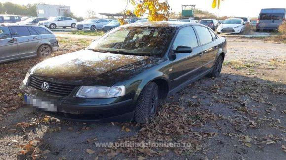 Mașină furată din Germania, recuperată de lucrători ai ITPF Sighet