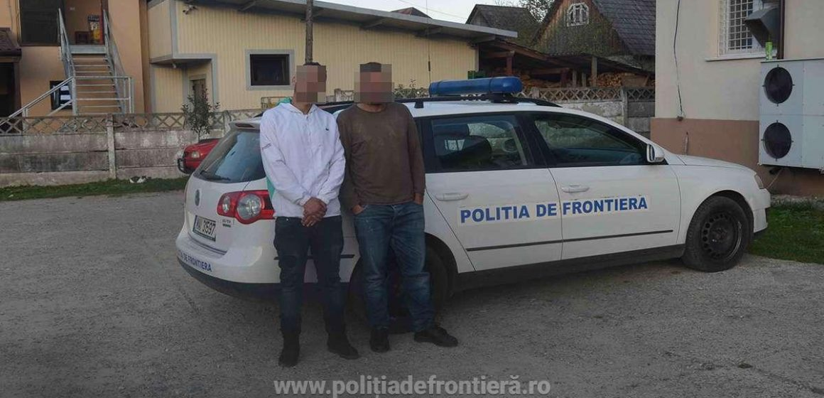 Un algerian și un tunisian care au trecut ilegal granița, reținuți de lucrători ai ITPF Sighet