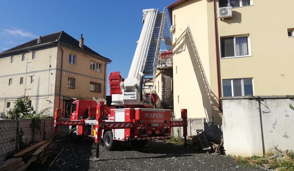 Patru incendii în ultimele 24 de ore
