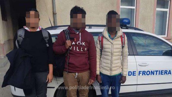 Trei srilankezi care încercau să treacă ilegal frontiera – opriți de lucrători ai ITPF Sighetu Marmației