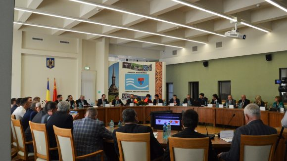 Ambasadorul Republicii Populare Chineze s-a întâlnit cu mediul de afaceri din Maramureș la Consiliul Județean