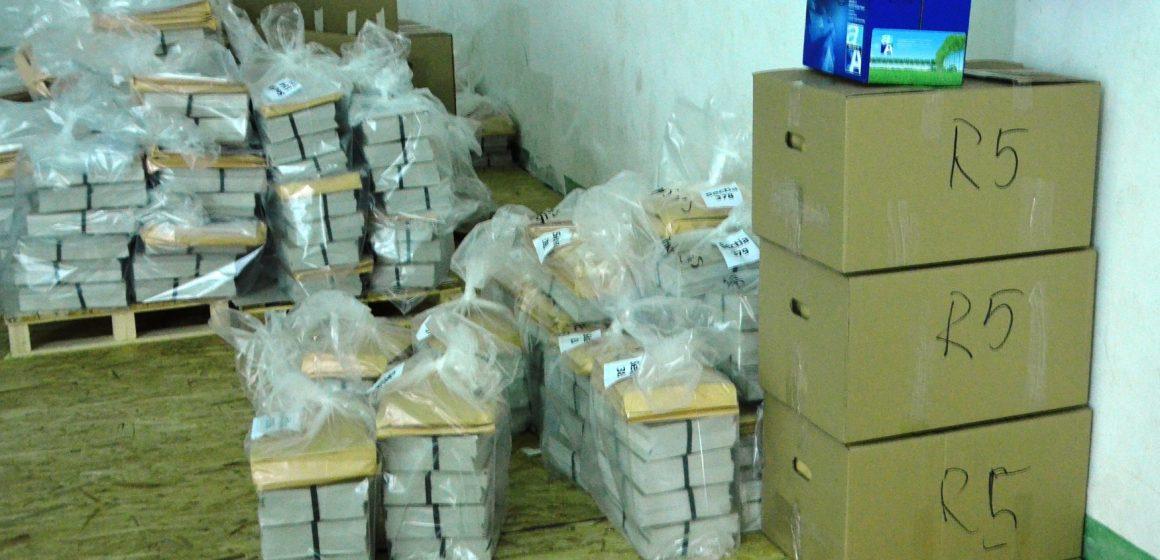 Materialele pentru alegerile prezidențiale au fost transportate în teritoriu