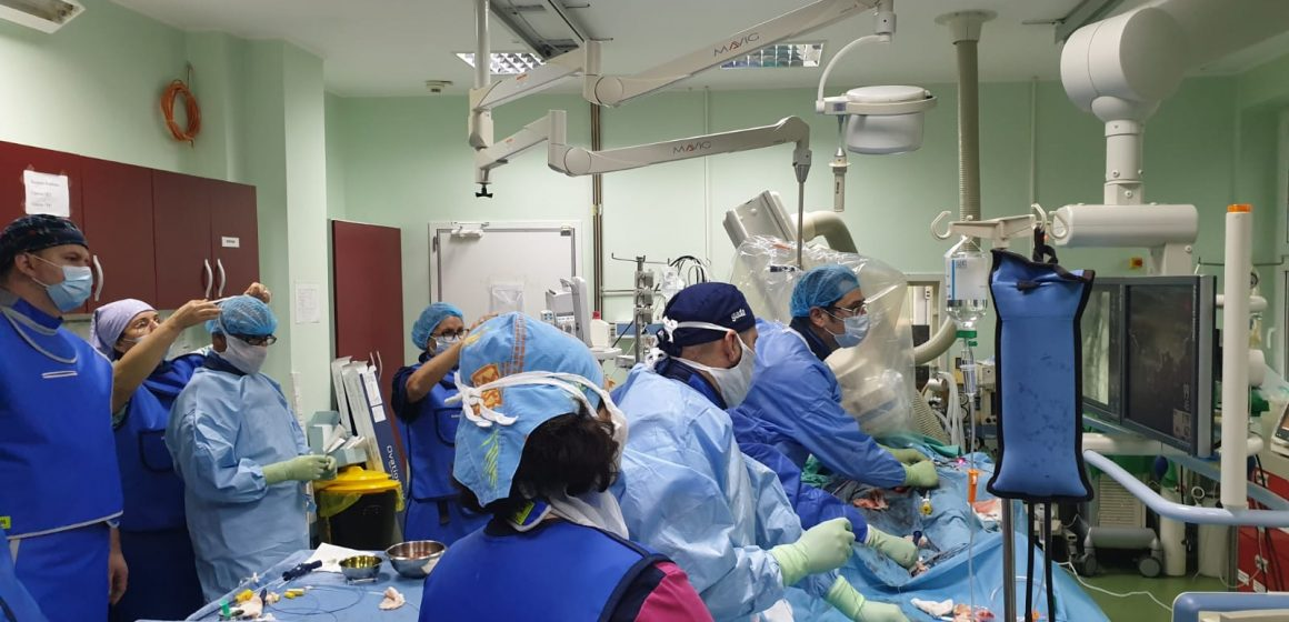 Caz complex cu risc vital rezolvat cu succes la Spitalul Județean de Urgență