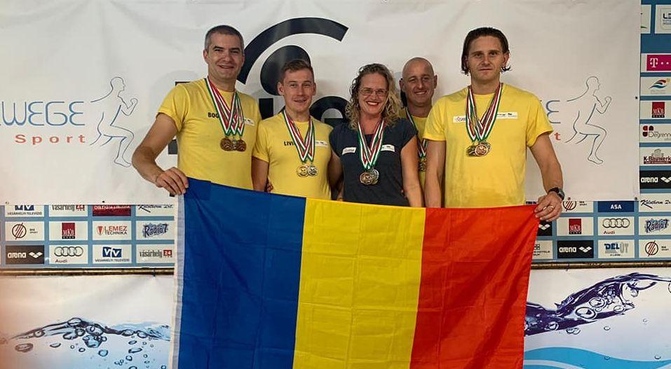Zece medalii pentru sportivii de la Gold Stars la Campionatele Internaționale Masters