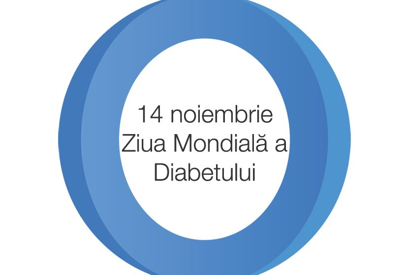 """""""Ziua Mondială a Diabetului"""" (ZMD)  14 noiembrie 2019"""