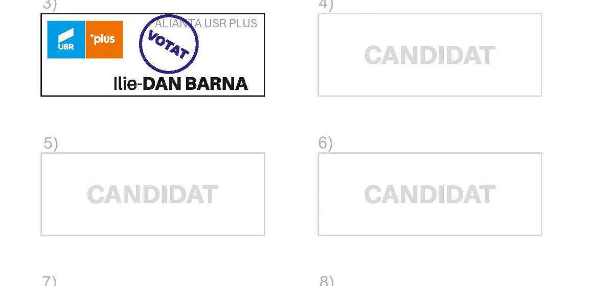 VOTEAZĂ poziția a treia pe buletinul de vot!