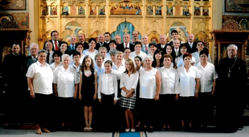 """EVENIMENT: 50 de ani de la înființarea corului bisericesc al Parohiei """" Adormirea Maicii Domnului"""""""