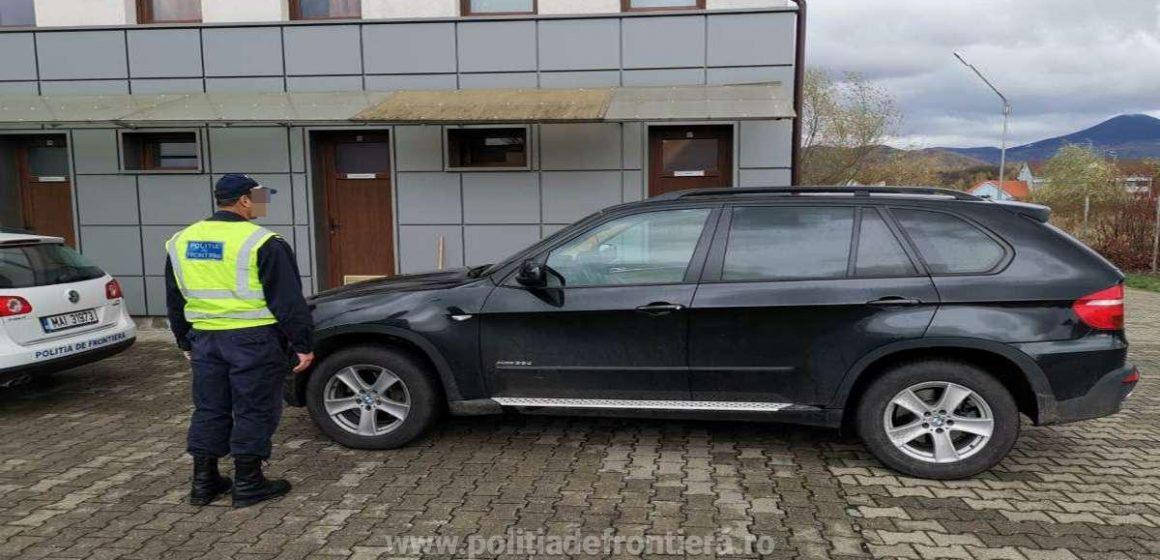 Lucrătorii ITPF Sighet au dat de urma unei mașini de 141.000 de lei care era căutată de autoritățile germane