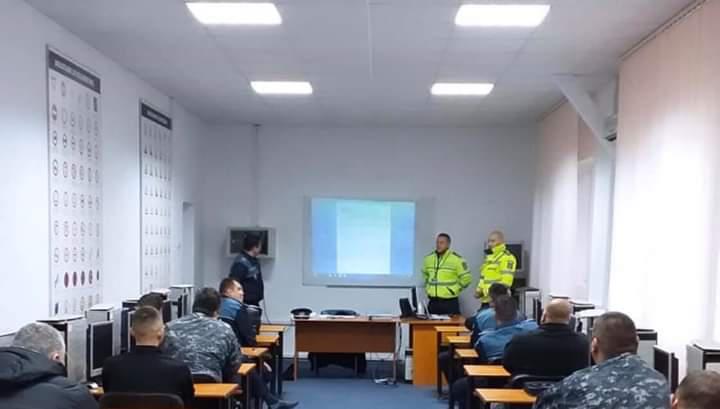 Un polițist maramureșean s-a ales cu patalama pentru instruirea la volan a altor polițiști