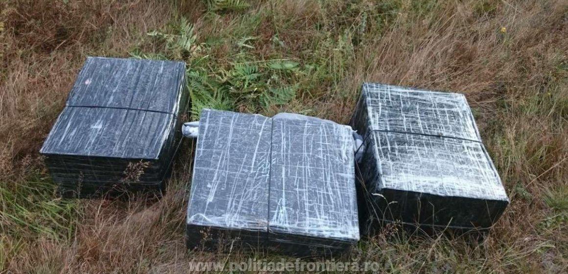 Aproape 16.000 de pachete cu țigări de contrabandă confiscate de lucrători ai ITPF Sighet