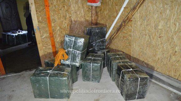 VIDEO   Peste 21.000 de pachete cu țigări de contrabandă au fost confiscate