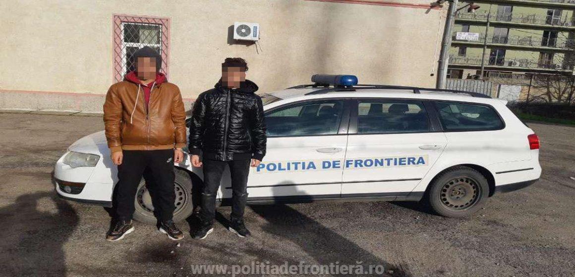 Doi tineri algerieni opriți din drumul ilegal spre vestul Europei