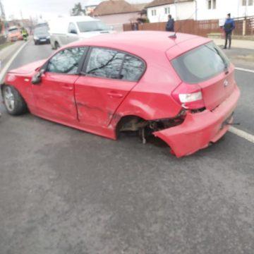 FOTO | Accident în zona Ilba